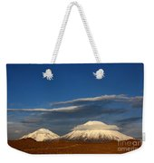 Payachatas Volcanos Chile Weekender Tote Bag