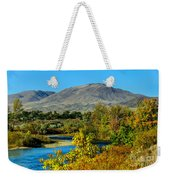 Payette River And Squaw Butte Weekender Tote Bag