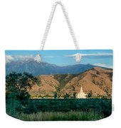 Payson Temple Mountains Weekender Tote Bag