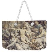 The Lamentation Over The Dead Weekender Tote Bag