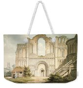 Pd.56-1958 West Front Of Castle Acre Weekender Tote Bag