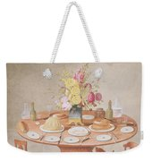 Pd.869-1973 Still Life With A Vase Weekender Tote Bag