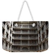 Peabody Library Baltimore Weekender Tote Bag