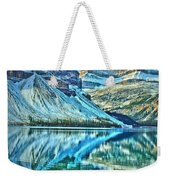 Peace At Bow Lake Weekender Tote Bag