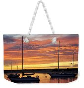 Peace At Days End Weekender Tote Bag