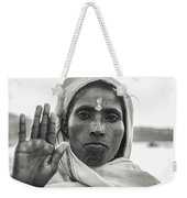 Peace Be With You Weekender Tote Bag