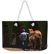 Peace Before The Race - Del Mar Horse Race Weekender Tote Bag