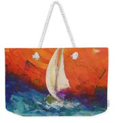 Peace Below The Surface Weekender Tote Bag