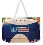 Peace Bus Weekender Tote Bag
