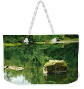 Peace By The River Weekender Tote Bag