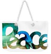 Peace Full 13 Weekender Tote Bag