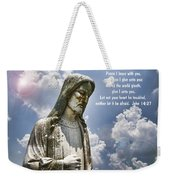 Peace I Leave With You Weekender Tote Bag