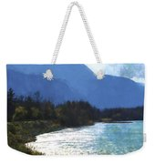 Peace In The Valley - Landscape Art Weekender Tote Bag