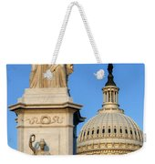 Peace Monument And Capitol Weekender Tote Bag