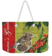 Peace On Earth 1 Weekender Tote Bag