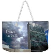 Peace On Earth - United Nations Weekender Tote Bag