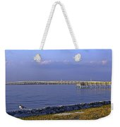 Peace River Bridge Weekender Tote Bag