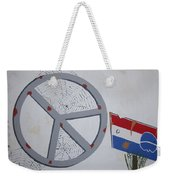 Peace Sells But Who's Buying Weekender Tote Bag