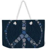 Peace Symbol Design - Bld01t01   Weekender Tote Bag