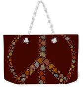 Peace Symbol Design - S05d Weekender Tote Bag