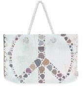 Peace Symbol Design - S76at02 Weekender Tote Bag