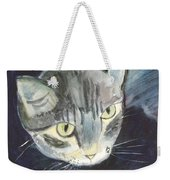 Peace The Cat Weekender Tote Bag