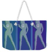 Peace Woman Repeat Weekender Tote Bag