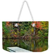 Peaceful Autumn Day Weekender Tote Bag