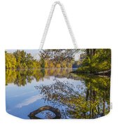 Peaceful Autumn Weekender Tote Bag