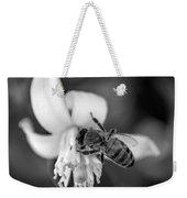 Peaceful Bee Weekender Tote Bag