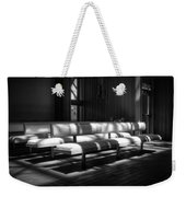 Peaceful Benches Weekender Tote Bag