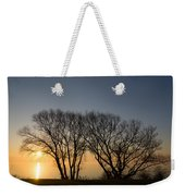 Peaceful Blues And Golds  Weekender Tote Bag