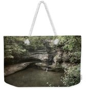 Peaceful Contemplation Weekender Tote Bag
