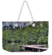 Peaceful Dock Weekender Tote Bag by David Troxel