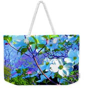 Peaceful Dogwood Spring Weekender Tote Bag