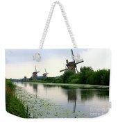 Peaceful Dutch Canal Weekender Tote Bag