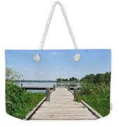 Peaceful Fishing Dock Weekender Tote Bag