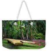 Peaceful Garden Weekender Tote Bag