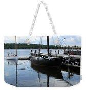 Peaceful Harbor Scene - Ct Weekender Tote Bag