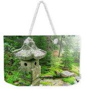 Peaceful Japanese Garden On Mount Desert Island Weekender Tote Bag by Edward Fielding