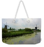 Peaceful Kinderdijk Weekender Tote Bag