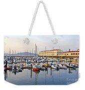 Peaceful Marina Weekender Tote Bag