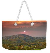 Peaceful Mountain Community Weekender Tote Bag