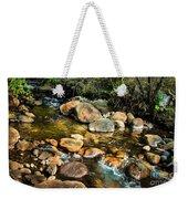 Peaceful Mountain Stream Weekender Tote Bag