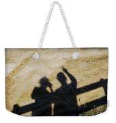 Peaceful People Shadows Weekender Tote Bag