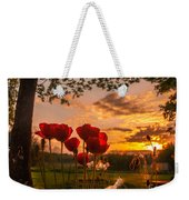 Peaceful Poppy Weekender Tote Bag