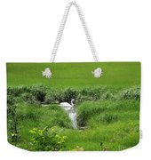 Peaceful Reflection Weekender Tote Bag