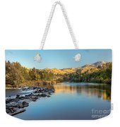 Peaceful River Weekender Tote Bag by Robert Bales