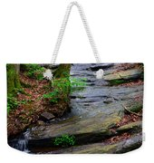 Peaceful Waterfall Weekender Tote Bag