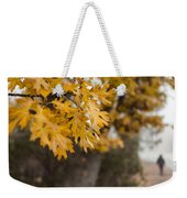 Peacefull Fall Walk Weekender Tote Bag